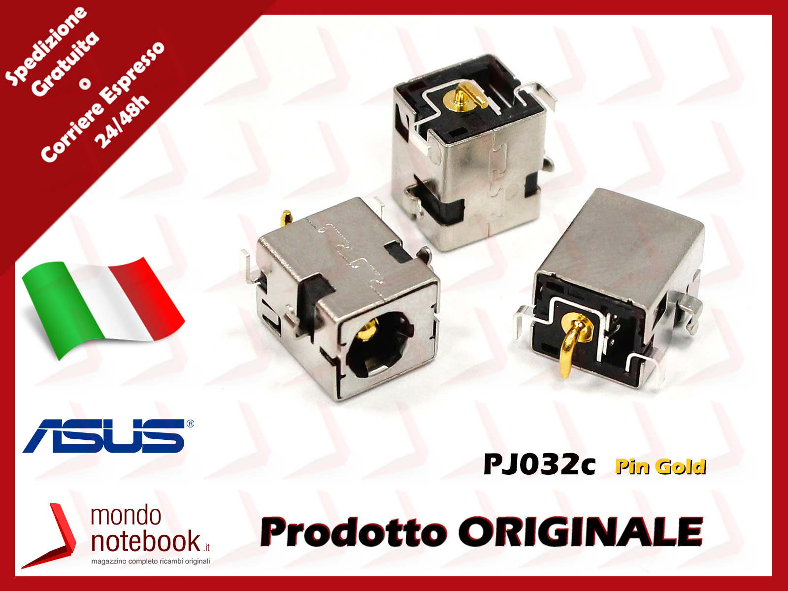 DC Power Jack connettore di alimentazione notebook ASUS A52 Series