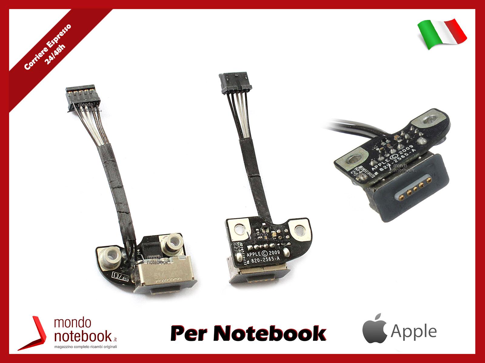 Connettore di Alimentazione DC Power Jack APPLE Macbook Pro MagSafe A1278 A1286 A1297 Board